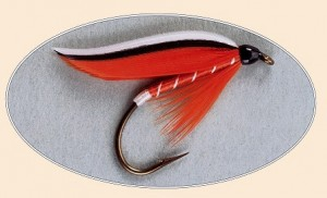 Trout Fin photo from Forgotten Flies published by Complete Sportsman.