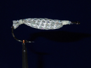 Epoxied Rattle EZ Tube Body Ready to Add Hackle and Wings
