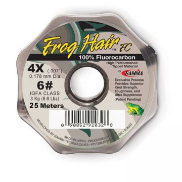 Frog Hair Fluorocarbon Tippet