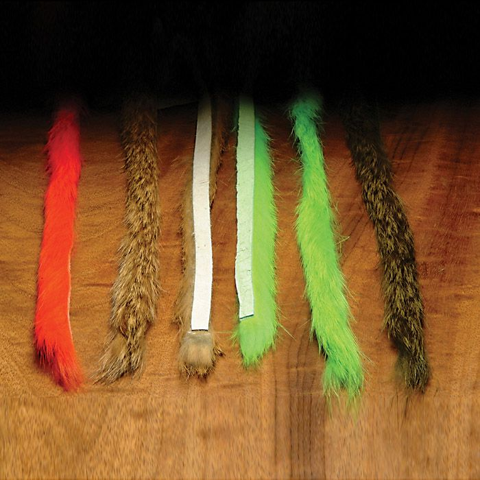 Hareline Rabbit Fur Strips, Magnum 1/4""