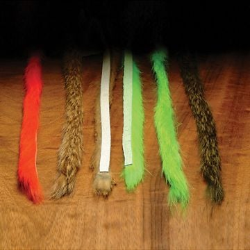 Hareline Rabbit Fur Strips, Magnum 1/4