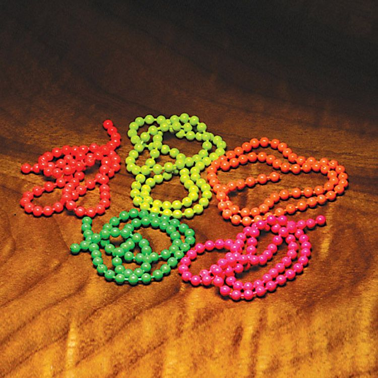 Hareline Fluorescent Bead Chain Eyes