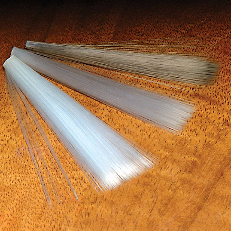 Fly Tying Hareline Mayfly Tails Clear Dun Cream