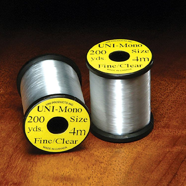 UNI Products UNI-Mono Fine Clear Monofilament