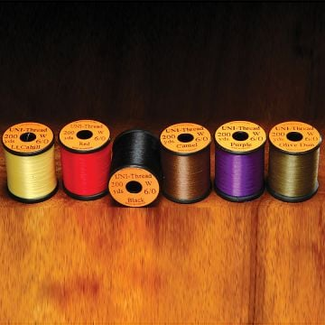 UNI Products 6/0 UNI-Thread Waxed