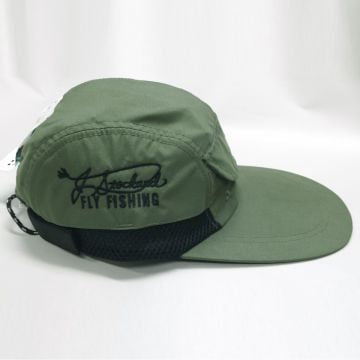 J. Stockard Signature Long Bill Fishing Cap Olive