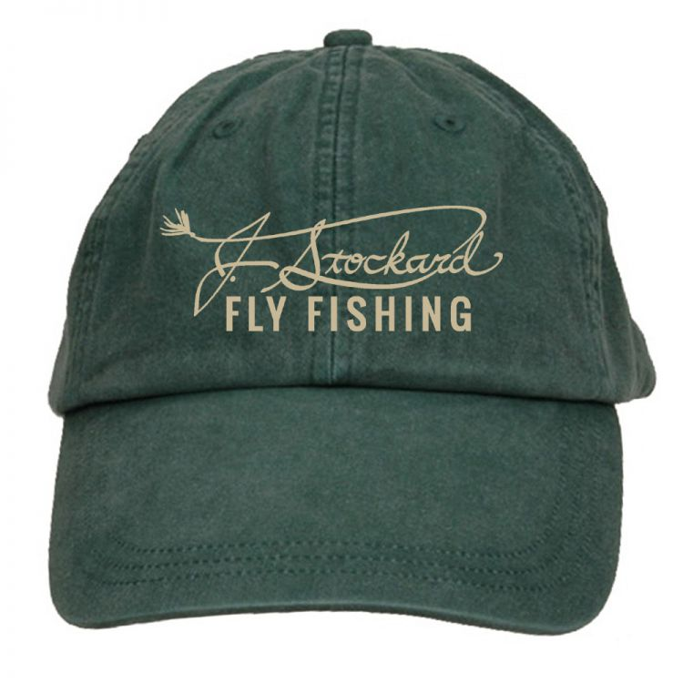 J. Stockard Signature Long Bill Green Cap