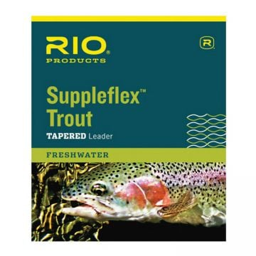 RIO Suppleflex Trout Leader 9'