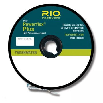 RIO Powerflex Plus Tippet - 50 yd.