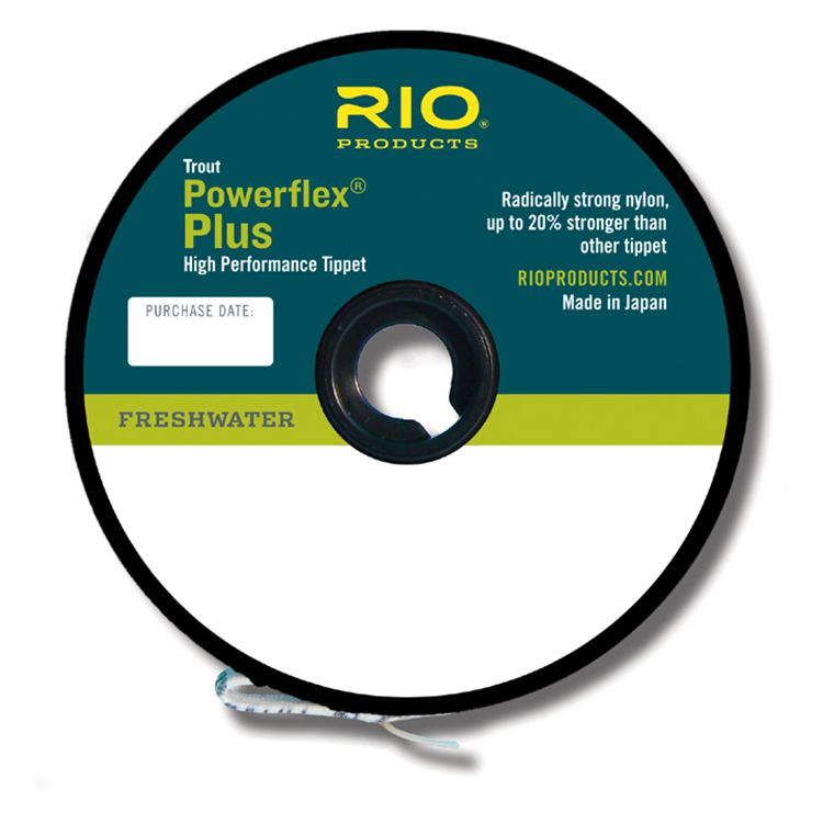 RIO Products Powerflex Plus Tippet - 50 yd.