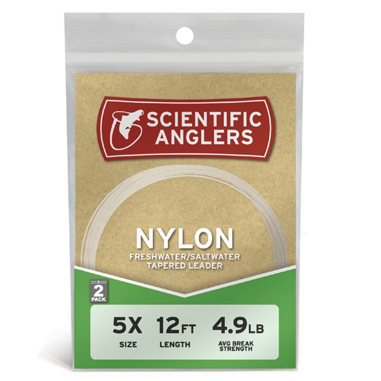 Scientific Anglers Nylon Leaders - 2 Pack