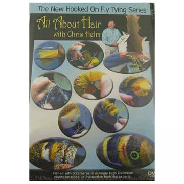 Jim & Kelly Watt Hooked on Fly Tying: All About Hair, with Chris Helm & Wayne Samson