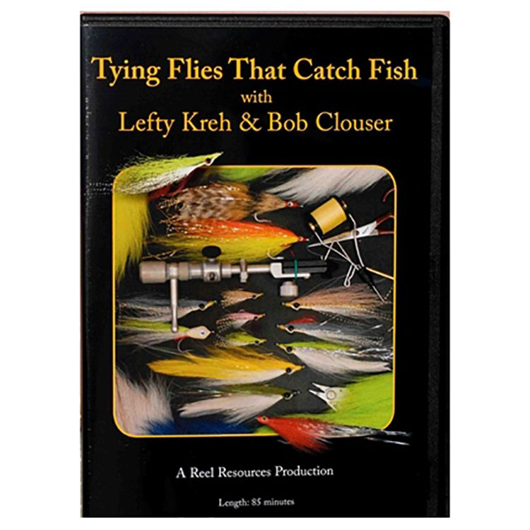 Lefty Kreh & Bob Clouser Tying Flies that Catch Fish