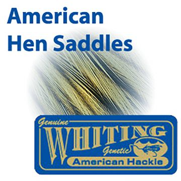Whiting Farms American Hen Saddle