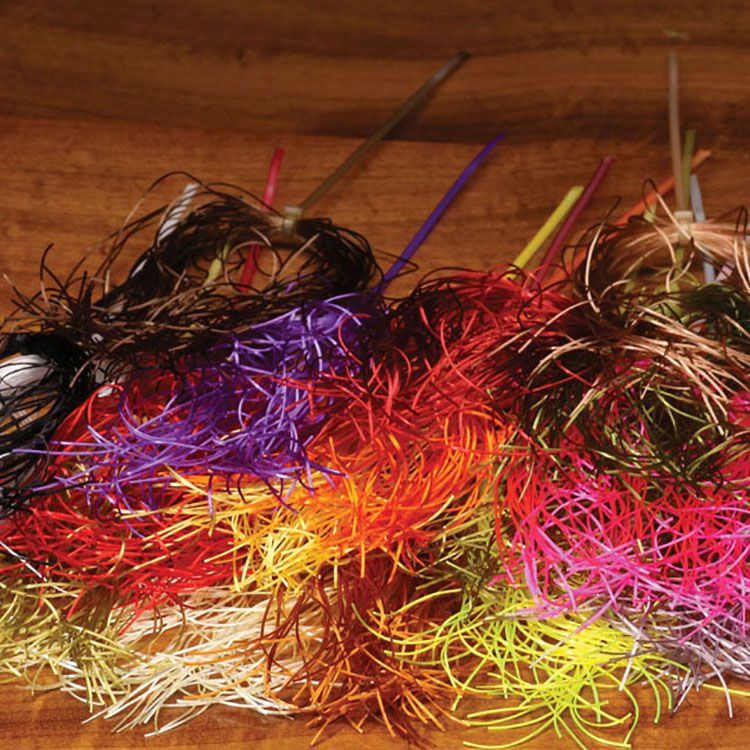 HARELINE DUBBIN LIFE FLEX LEG /& BODY MATERIAL FLY AND JIG TYING YOU PICK COLOR