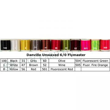 Danville 6/0 Flymaster Thread Unwaxed
