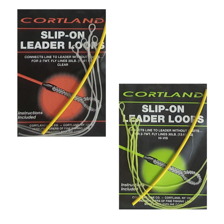 Cortland Line Slip-On Leader Loops