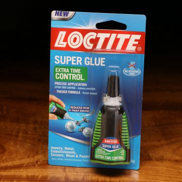 Loctite Super Glue Extra Time Control Green Bottle
