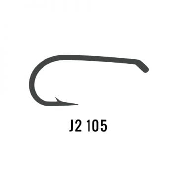 J. Stockard J2 105 Dry Fly Hook