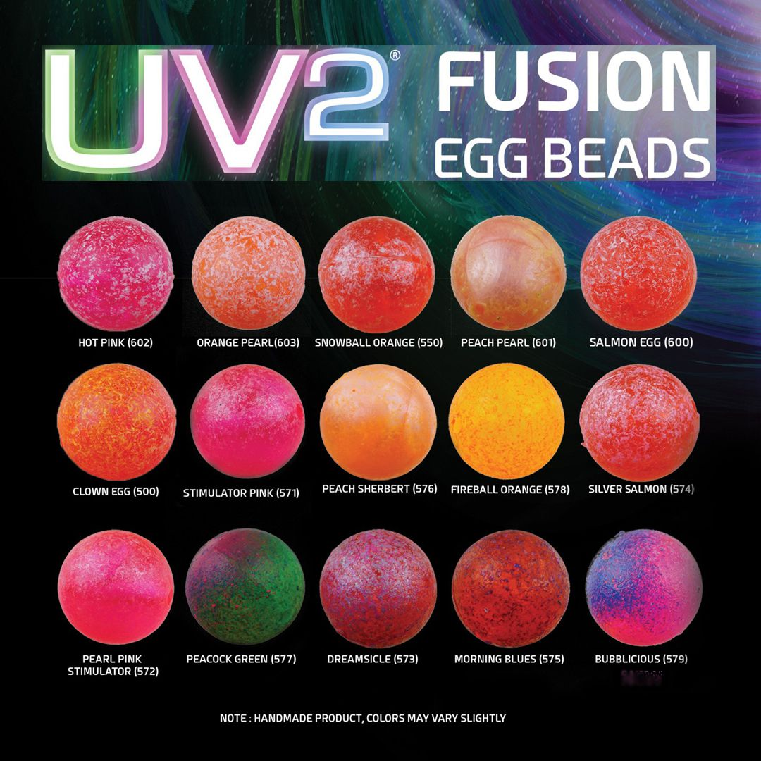 Spirit River UV2 Fusion Egg Beads | J. Stockard Fly Fishing