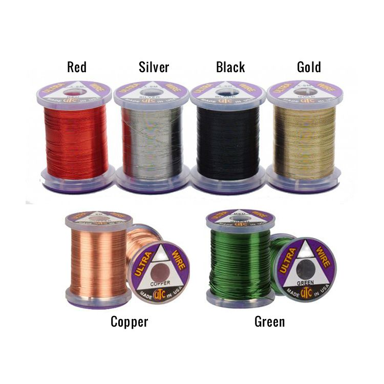 Xtra Small Silver Fly Tying Ultra Wire