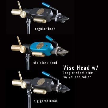 Regal Eng. Revolution Vise Head, Body & Stem