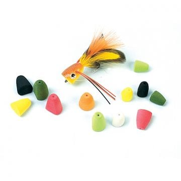 Rainy's Pre-shaped Foam Bass Poppers