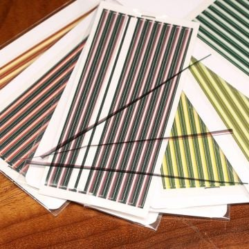Hareline Tapered Synthetic Quill