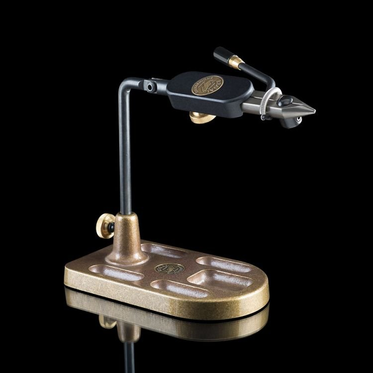 Regal Eng. Medallion  Vise - Stainless Steel Head