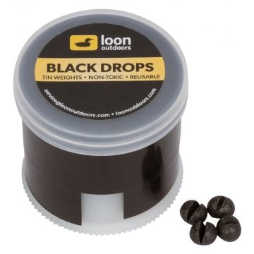 Loon Outdoors Tin Weights In Twist Pot Dispenser