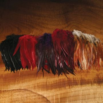 "Hareline 6-7"" Woolly Bugger Saddle Hackle"