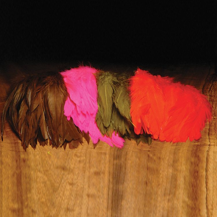 Strung Saddle 5-7 Inch by Hareline Dubbin NEW FREE SHIPPING
