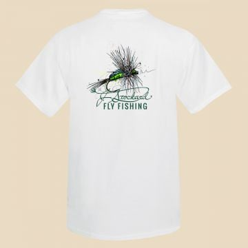 J. Stockard Fly Fishing Signature Tee in White