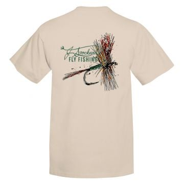 J. Stockard Fly Fishing Signature Tee in Sand