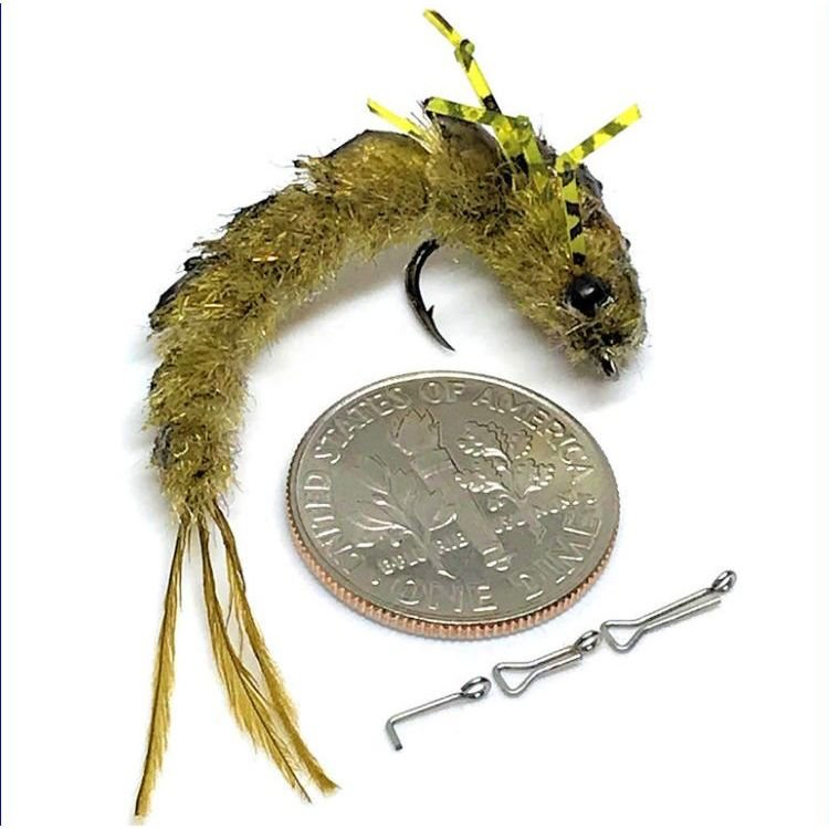 Flymen Fishing Fish-Skull Chocklett's Articulated Micro Spine