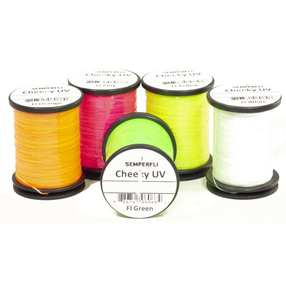 Semperfli ® Cheeky UV Tinsel  *** NEW 2020 Stocks **** 5 Colour Choices In Stock