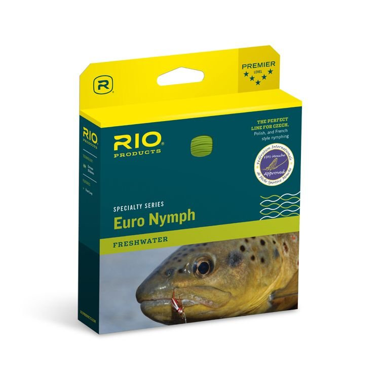RIO Products FIPS Euro Nymph Fly Line #2-5