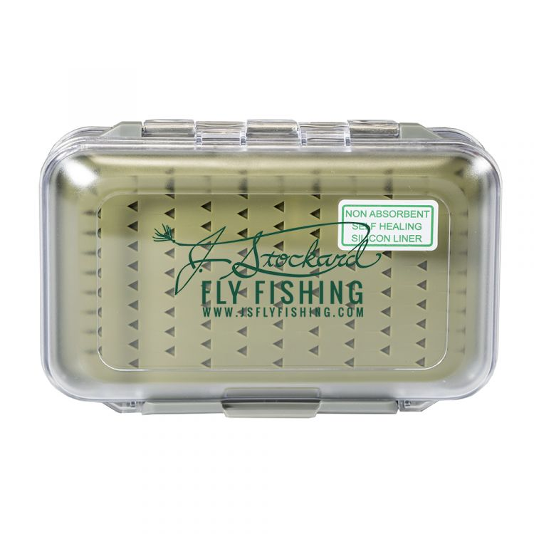 J. Stockard Waterproof Fly Box w/ Silicon Inserts