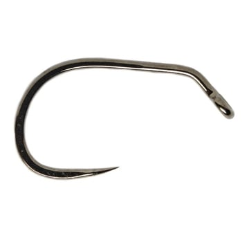 Fulling Mill FM5125 Jig Force Short Barbless Black Nickel Fly Hooks
