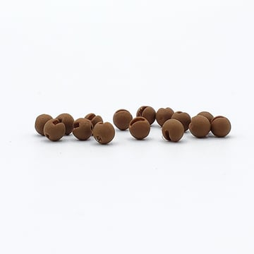"Firehole Outdoors Slotted Tungsten Beads - ""Stones"" - 2.0mm Dia."