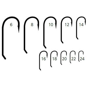 Mustad hook size chart driverlayer search engine for Fly fishing hook sizes