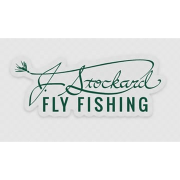 J. Stockard Signature Sticker with Clear Backing