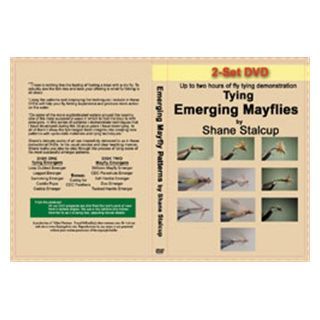 Shane Stalcup Tying Emerging  Mayflies (2 DVD Set)