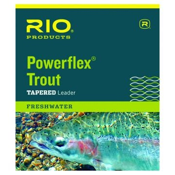 RIO Products Powerflex Trout Leader - 3 pack