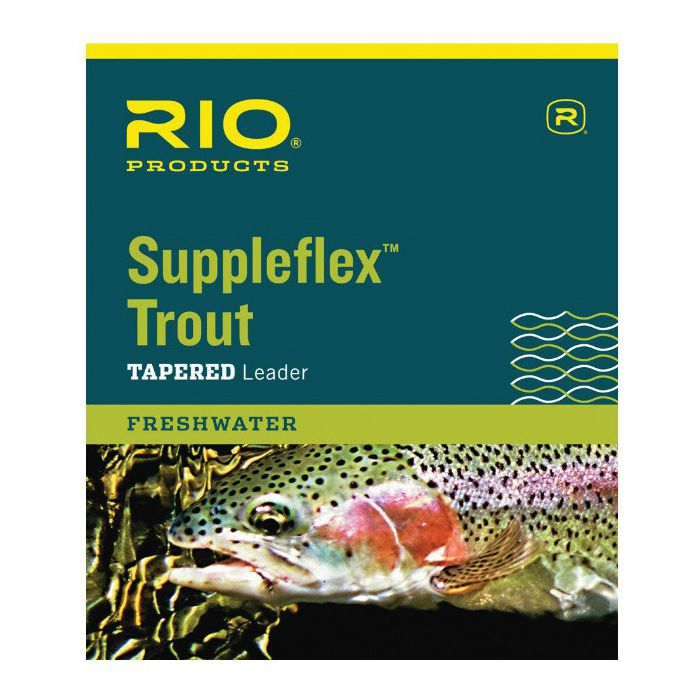 RIO Products Suppleflex Trout Leader 9'