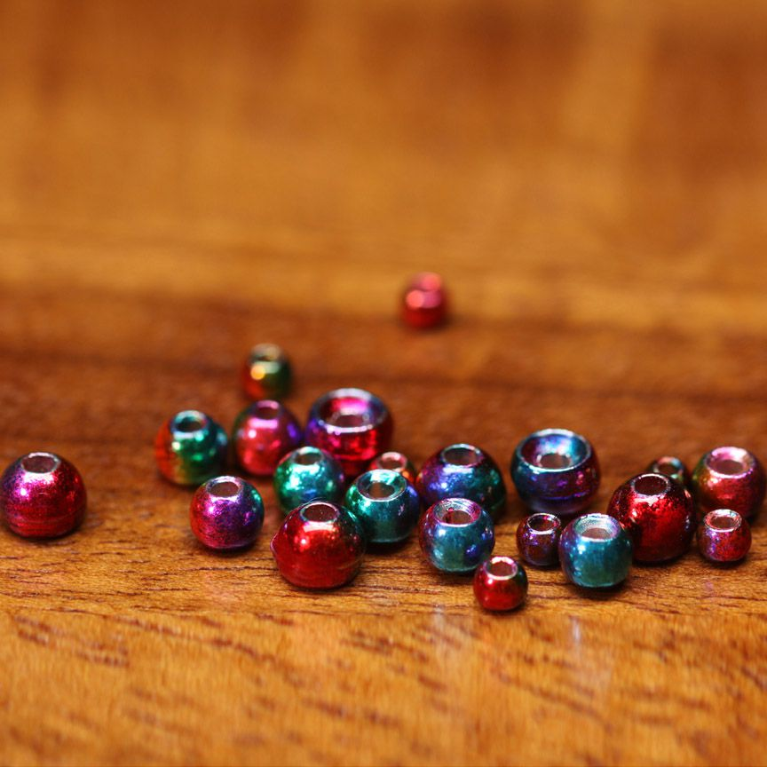 Hareline Rainbow Plummeting Tungsten Beads