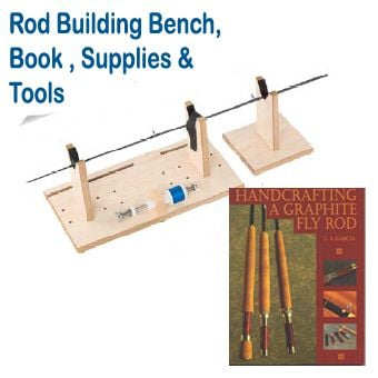 J. Stockard Rod Building Bench, Book, & Supplies Kit
