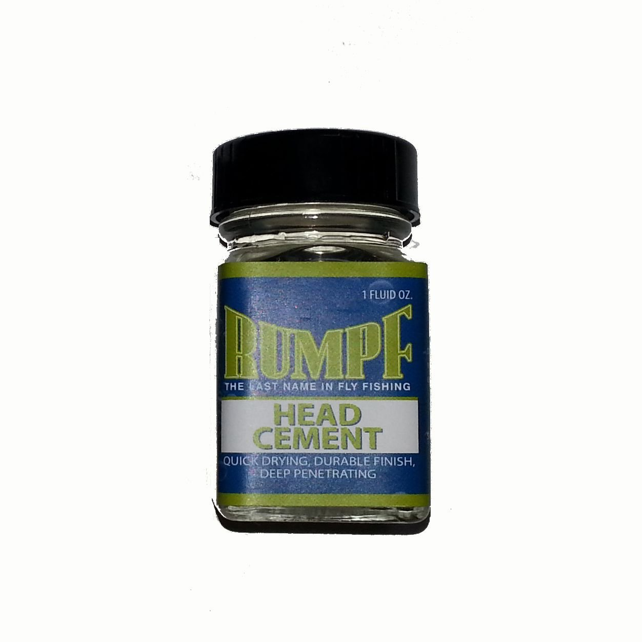 Rumpf Clear Fly Tying Head Cement