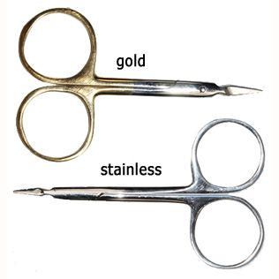 "Just Simply Tools 4"" Serrated Scissors"