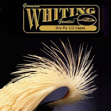 Whiting Farms Dry Fly 1/2 Cape - bronze
